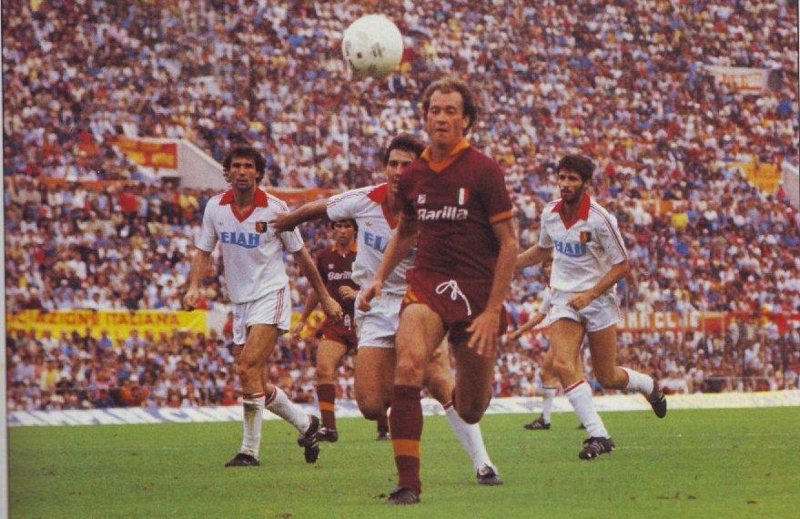 Almanacco Giallorosso - Roma-Genoa - Campionato 1983/1984
